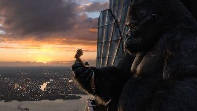 Escena emblemática de King Kong.