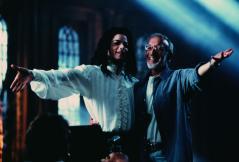 MJ y Stan Winston