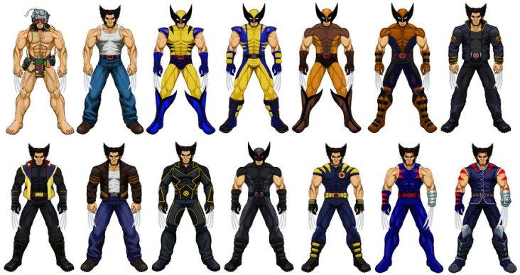 Uniformes de Wolverine