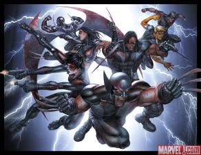 Wolverine y sus X-Force