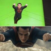 Superman. Así volaba también Reeve en los 70