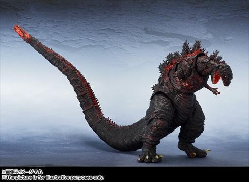 【新品】BANDAI-S.H.-MonsterArts-Godzilla-20168