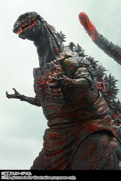 【新品】BANDAI-S.H.-MonsterArts-Godzilla-20169