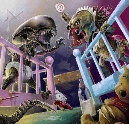 9ac2a826437aa07e43e003fee16f2a22--predator-alien-xenomorph