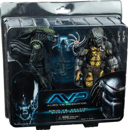 ALIEN-VS-PREDATOR-Battle-Damaged-Celtic-Predator-vs-Battle-Damaged-Grid-Alien_283710