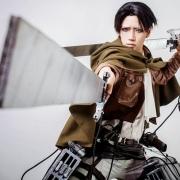 Attack on Titan-Levi cosplay8