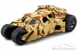 BCJ76-MATTEL-BROWN-Dark-Knight-Rises-Batmobile-Tumbler-Diecast-Model-Toy-Car-det
