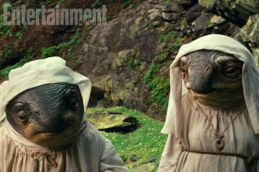 Star Wars: The Last Jedi Caretakers on Ach-to Island