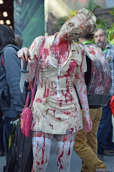 Cosplay-Round-Up-New-York-Comic-Con-2015-Edition-Silent-Hill-Horror-Nurse