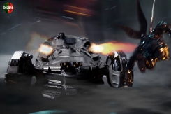 Multiverse Batmobile Justice League (5)