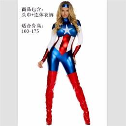 2018-mujeres-atractivas-Super-hero-na-Cosplay-traje-partido-vengadores-Capit-n-Am-rica-Superwoman-Superhero