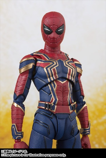 Avengers-Infinity-War-SH-Figuarts-Iron-Spider-008