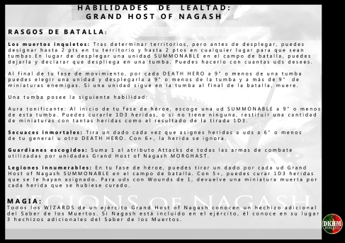 HOST OF NAGASH RASGOS DE BATALLA copia