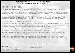 LEALTAD LegionsofBlood RasgosBatalla